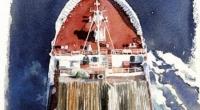 Aquarelle-Glomar-Pacifique