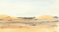 aquarelle-dunes-kneifissat-mauritanie-2