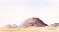 aquarelle-tijirit-mauritanie-1