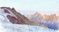 aquarelle-glacier-tour-matin