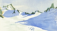 aquarelle-glacier-trient-1
