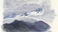 aquarelle-glacier-trient-aiguille-tour