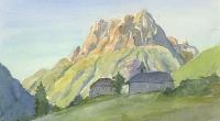 aquarelle-vallorcine-eglise-5