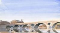 Aquarelle-Pont-Neuf-Toulous