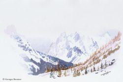 G.B. la galerie s'étoffe enfin avec des aquarelles de montagne