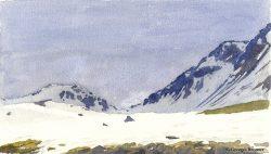 G.B. Toutes les aquarelles de montagne sont maintenant publiées dans la galerie